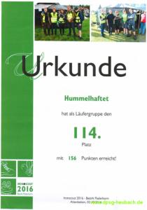 114 Urkunde